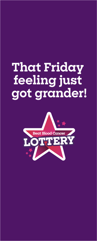 Blood Cancer UK Weekly Lottery